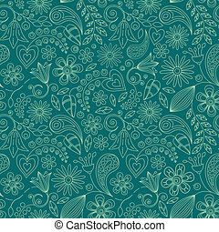 Seamless Background - Vector Seamless Background