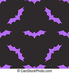 Seamless background with bats.