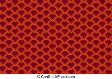 Seamless Background with Diamond Pattern