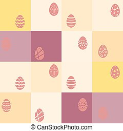 seamless background with Easter egg