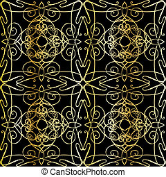 seamless background with filigree