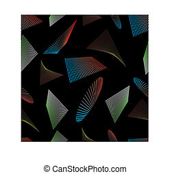 seamless background with geometric pattern 6