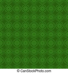 Seamless background with green design. St. Patrick day backgro