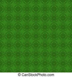 Seamless background with green design. St. Patrick day backgroun