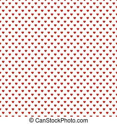 Seamless background with hearts