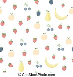 Seamless background with juice and