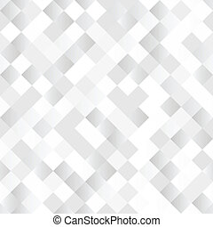 Seamless background with shiny silver squares