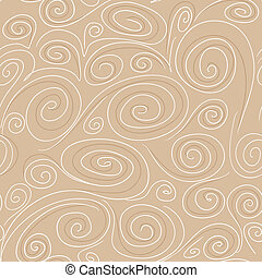 Seamless background with spirals pattern