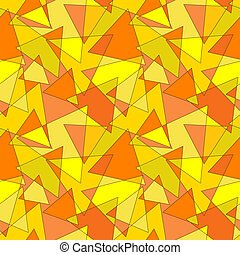 Seamless Background with Triangles