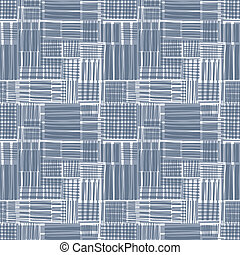 Seamless background with vertical repeating geometric elements,