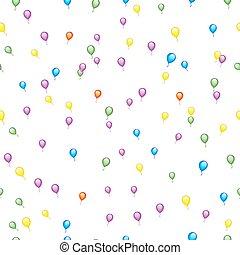 Seamless Balloon Pattern