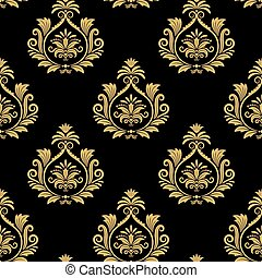 Seamless baroque background