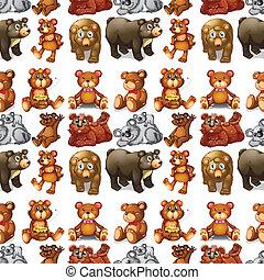 Seamless bears