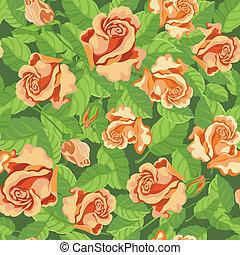 seamless, beatifull, rosas