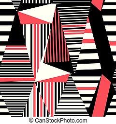 Seamless beautiful geometric pattern