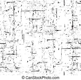 Seamless black and white grunge texture with scuffs