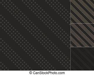 seamless black dots pattern