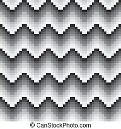 seamless black grey shade wave pattern