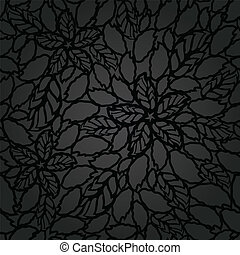 Seamless black lace wallpaper