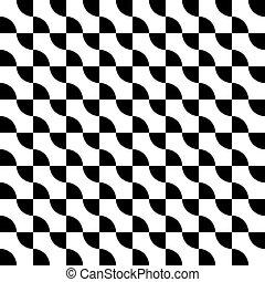 seamless black on transparent shape