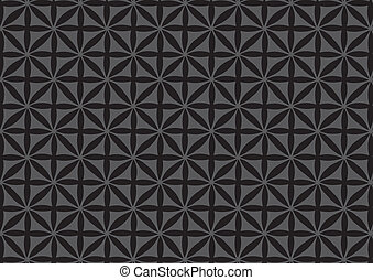 Seamless Black Repeated Pattern Wallpaper - Vector ...