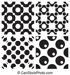 Seamless Black Wallpaper