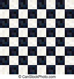 seamless black white square pattern