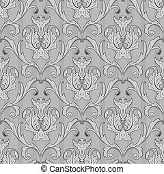 seamless black white wallpaper pattern