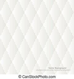 seamless., blanco, tapicería, -, plano de fondo