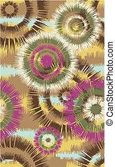 seamless, blomst mønster
