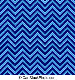 Seamless blue chevron pattern