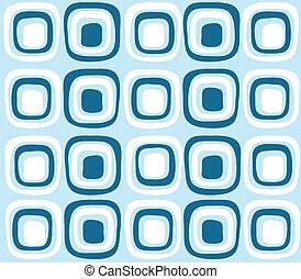 seamless blue color retro pattern