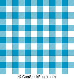 Seamless blue gingham pattern background