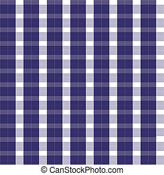 seamless blue gingham vector