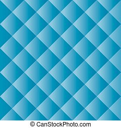 Seamless Blue Padded Background Texture