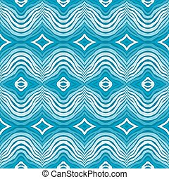 Seamless  blue striped background
