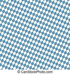 seamless blue white checkered Oktoberfest background
