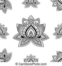 gewebe elemente muster henna seamless hand decke eps vektoren suche clipart. Black Bedroom Furniture Sets. Home Design Ideas