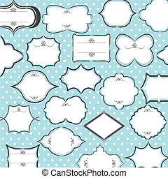 seamless border pattern