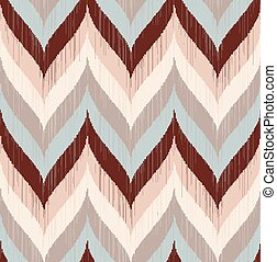 seamless braid chevron pattern