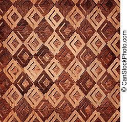 Seamless braided wooden texture