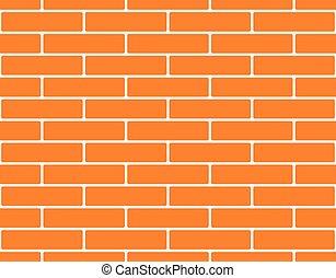 Seamless brick wall background