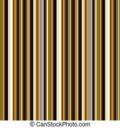 Seamless brown and golden colors vertical lines pattern.