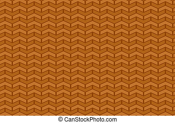 Seamless brown background with chev