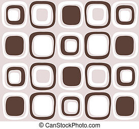 seamless brown color retro pattern
