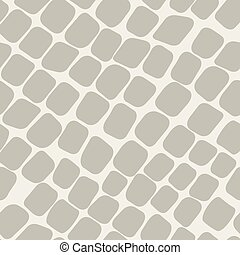 Seamless brown pattern with paving stone