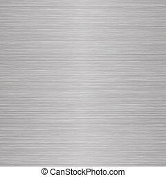 Seamless Brushed Metal - A seamless brushed nickel texture...