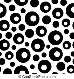 Seamless Bubble Pattern