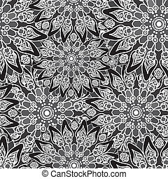 Tapete Orientalisches Muster abstrakt mandala style stoff forms pattern stockbild