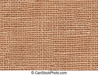 Seamless burlap texture background, detail